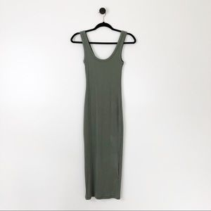 NWT H&M Sleeveless Midi Dress